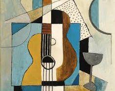 Αποτέλεσμα εικόνας για picasso paintings musical instruments