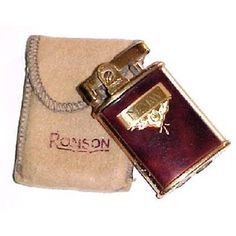 1940s Vintage Ronson Pocket Lighter- model ?