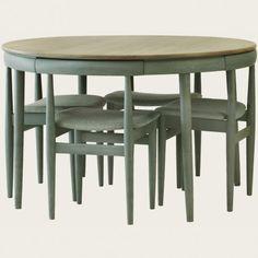 Nesting dining table via chelsea textiles