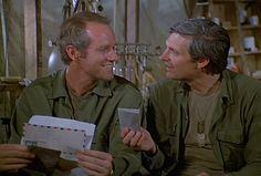 M*A*S*H: Season 6, Episode 5 The Winchester Tapes (18 Oct. 1977) Hawkeye Pierce , Captain Benjamin Franklin Pierce, Alan Alda , mash, 4077, Mike Farrell , Captain B.J. Hunnicut,