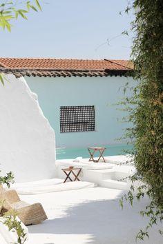 Hospedaria Convento de la parra; espagne; hotel design; idées hôtel déco; Andaluzia; architecture; ancien couvent transformé en Hôtel