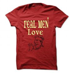 Real men love Cooking T Shirts, Hoodies, Sweatshirts. CHECK PRICE ==► https://www.sunfrog.com/LifeStyle/Real-men-love-Cooking-Red-44822532-Guys.html?41382