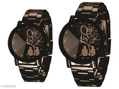Checkout this latest Watches Product Name: *MMD  Analogue broun Colour Dial Couple Watch Combo Pack of 2* Strap Material: Metal Display Type: Analogue Size: Free Size Multipack: 2 Country of Origin: India Easy Returns Available In Case Of Any Issue   Catalog Rating: ★4 (354)  Catalog Name: Classic Women Watches CatalogID_2020742 C72-SC1087 Code: 962-10927382-126