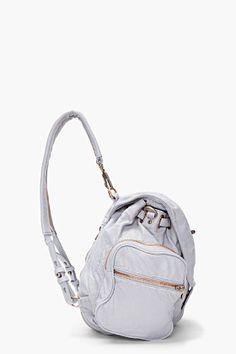 ALEXANDER WANG Grey Marti Mercury Backpack