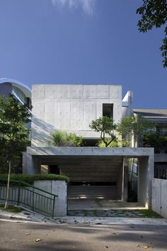 Namly House by CHANG Architects (Namly Place, Singapur) #architecture