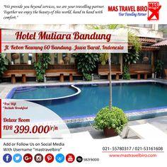 Mencari penginapan di dekat stasiun kereta bandung , nginep aja di hotel mutiara hanya Rp 399.000/Malam sudah bisa menginap di deluxe room lho , Yuk Pesan ;) #mastravelbiro #hotel #bandung