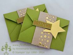 Stampin' Up! by First Hand Emotion: 24 Türchen, Sternstanze