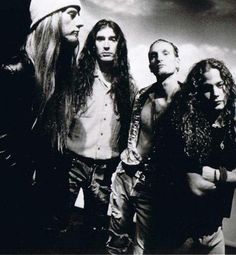 Alice In Chains.......reason I moved to Seattle in the 90's.......saw them too many times to count.....miss the original make up of this band so much....RIP Layne and Mike
