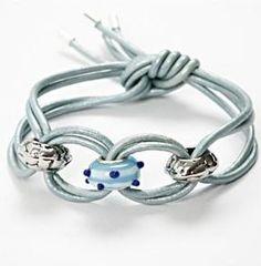 DIY Threaded Charm Bracelet