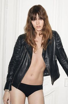 Freja Beha Erichsen photographed by Terry Richardson for Zadig & Voltaire Fall 2014.