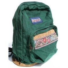 T-Shirts, JanSport Backpacks, and 180 other items Green Backpacks, Vintage Backpacks, Cute Backpacks, School Backpacks, Cute Jansport Backpacks, Leather Backpacks, Leather Bags, Mochila Grunge, Travel Accessories