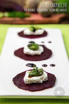 Dziś kozie carpaccio na buraku z bobem oraz sosem balsamico. http://gotowaniezpasja.pl/…/351-kozie-carpaccio-na-buraku-z… http://gotowaniezpasja.pl/…/354-pizza-na-bialym-czosnkowym-… #foodphotography #foodporn #fotografiakulinarna #blogkulinarny #gotowaniezpasją #pawełłukasik #grzegorztargosz