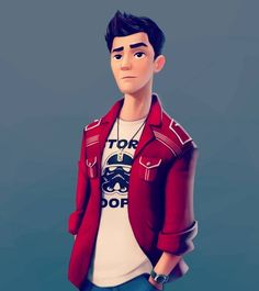 """This's my character concept for a CGI Animated Short Film: """"LOST"""" 3d Model Character, Character Concept, Character Art, Concept Art, Character Design, Professor Sycamore, Avatar 3d, Caricatures, Short Film"""