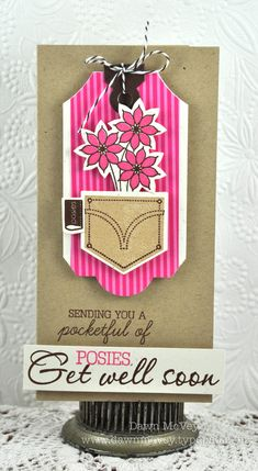 Card by Dawn McVey for Papertrey Ink (March 2012)