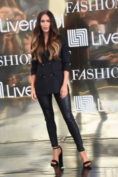 Actress Megan Fox attends at press conference to promote Fashion Fest Autumn/ Winter 2017 at Liverpool Insurgentes on September 06 2017 in Mexico...