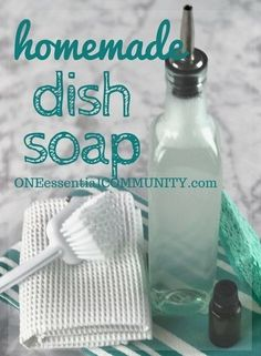 DIY Liquid Dish Soap Recipe DIY Liquid Dish Soap Recipe - One Essential Community<br> Homemade dish soap - lots of bubbles, cuts grease, rinses well (even in hard water), gets dishes squeaky clean and sparkling.
