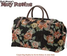 Mary Poppins' Carpet Bag.  I am seriously considering making one since it doesn't seem available to buy.