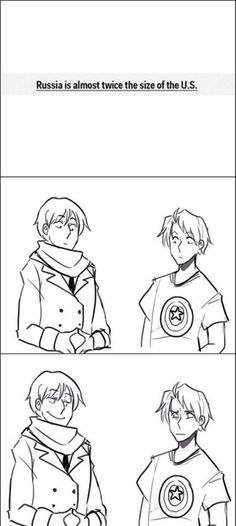 In my lengthy time in the RusAme fandom of Hetalia, this will just never get old, oh my goodness it's wonderful