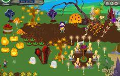 Spooky Halloween garden!