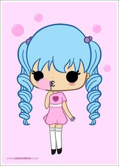 COMMISSION: Bubble Lane Mascot by Cute-Creations.deviantart.com on @deviantART