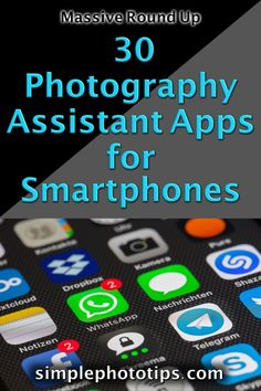 30+ Photography Assistant Apps for Smartphones Photography Tips For Beginners, Photography Lessons, Phone Photography, Photography Business, Photography Tutorials, Photography Basics, Digital Photography, Light Pollution Map, Exposure Calculator