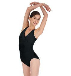 Mock Halter Leotard - Style #MC300 at Discount Dance Supply