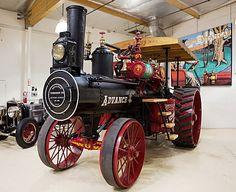 1906 Advance Steam Traction Engine...  :-) :-) :-)