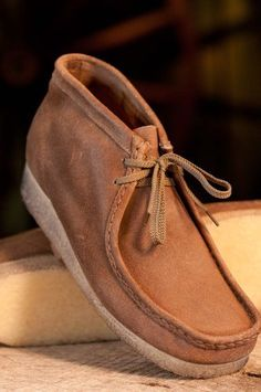 Wallabees! i just want a pair for some reason!
