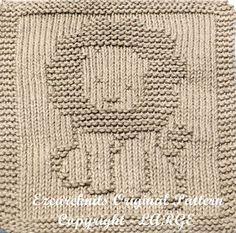 Knitting Cloth Pattern HAPPY LION PDF
