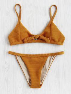 Bow Detail Bikini Set