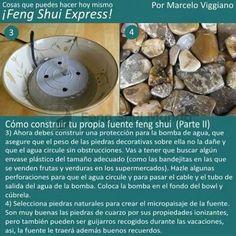 Feng shui. Construir una fuente II