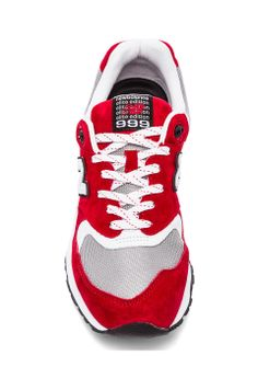 New Balance ML999 Elite Edition: Red/Grey