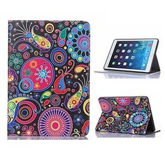 Lovely Fish Design Case with Stand for iPad Air 2 / iPad mini 3