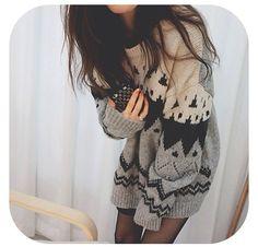 Cozy overzised sweaters ♡