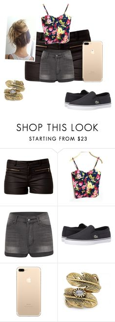 """""""Untitled #40"""" by winou17 on Polyvore featuring Vero Moda, WithChic, Cheap Monday, Lacoste and Natalie B"""