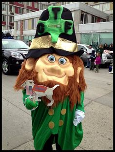 My First St Patrick's Day Parade.  Denver CO (Chris Hauge)