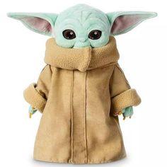 Baby Yoda Plush, Cosermask 12 inch The Mandalorian Baby Yoda Figure Plush Toys Stuffed Clothing Removable Doll Star Wars Baby, Star Wars Toys, Star Wars Disney, Disney Stars, Peluche Star Wars, Baby Toys, Kids Toys, Baby Stuffed Animals, Disney Plush