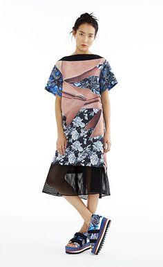 Paper Poem A-line Shift Dress | Clover Canyon