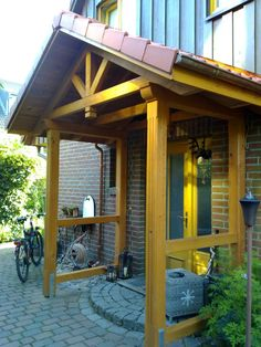 Outside Living, Wainscoting, Outdoor Spaces, Bungalow, Terrace, Home Improvement, Pergola, Stairs, Outdoor Structures