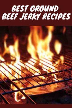 Recipes of Beef Jerky Ground Beef Jerky Recipe, Beef Jerky Marinade, Beef Jerky Dehydrator, Deer Jerky Recipe, Beef Jerkey, Homemade Beef Jerky, Dehydrator Recipes, Deer Recipes, Beef