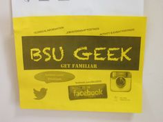 BSU GEEK!  #BDPA and #bdpatoday thank #BowieState University for co-hosting annual Regional TECH Summits while providing leadership, hospitality, support, and scholarships to qualified BDPA #HSCC Alumni!