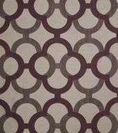 Home Decor Print Fabric-Eaton Square Geology Plum