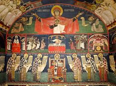 The New Romanian Masters: Innovative Iconography in the Matrix of Tradition – Orthodox Arts Journal Catholic Pictures, Paint Icon, Church Interior, Byzantine Art, John The Baptist, Classical Art, Orthodox Icons, Religious Art, Old Things
