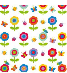 flowers 'n' bugs by Stella Baggott, via Flickr