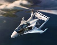 Beautifully Design of a 4 seat Gyrocopter Concept.