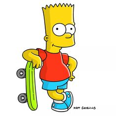bart simpson skateboarding cm, decal sticker в 2 Cartoon Character Pictures, Cartoon Network Characters, Simpsons Characters, Drawing Cartoon Characters, Cartoon Painting, Favorite Cartoon Character, Cartoon Pics, Character Drawing, Cartoon Drawings