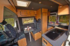 Fiat Ducato 120 multijet Campervan Conversion, 5 berth, toilet, fridge, cooker, 2007, 69000 miles | Campervans & Caravans
