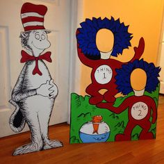 Hey, I found this really awesome Etsy listing at https://www.etsy.com/listing/214100591/dr-seuss-character-cutout-cat-in-the-hat