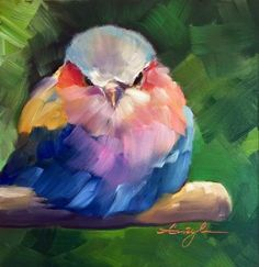 What is Your Painting Style? How do you find your own painting style? What is your painting style? Bird Painting Acrylic, Love Birds Painting, Acrylic Painting Inspiration, Watercolor Bird, Watercolor Paintings, Oil Paintings, Acrylic Canvas, Colorful Paintings, Paintings Of Birds