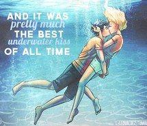 Percabeth underwater kiss <3